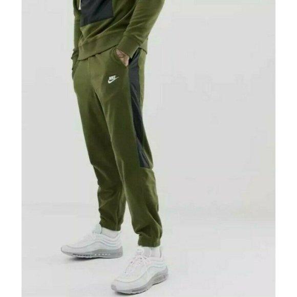Nike Pants | Fleece Jogger Army Green